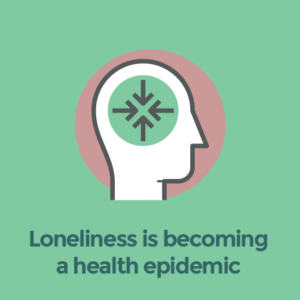 Loneliness is becoming a health epidemic