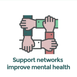 Support networks improve mental health